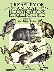 Treasury of Animal Illustrations from Eighteenth Century Sources (Dover Pictorial Archive)
