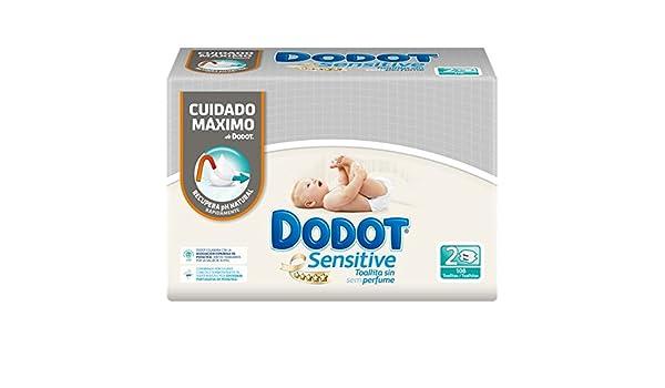 Dodot Sensitive Toallitas para Bebé - 3 paquetes de 2 x 54 ...