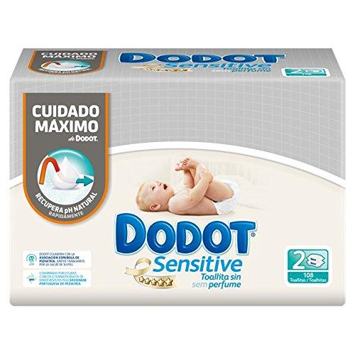 🥇 Dodot Sensitive – Toallitas para bebés