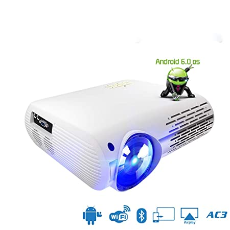 Reproductor de Cine en casa Full HD Proyector de Video LED LCD ...