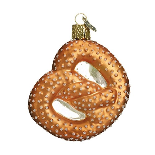 Old World Christmas Ornaments: Pretzel Glass Blown Ornaments for Christmas Tree
