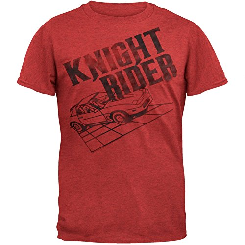 Official Knight Rider Halftone Logo Soft T-Shirt