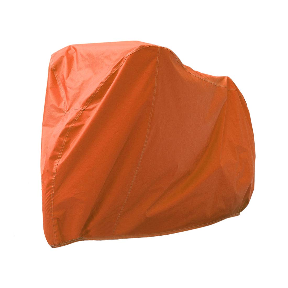 uxcell XL Orange Waterproof Rain UV Dust Resistant Protective Cover for Motorcycle