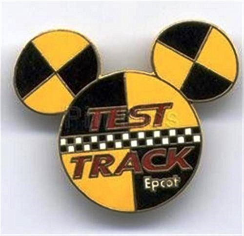 Epcot Test Track Mickey Head Logo Ears Icon Disney Pin (Ears Icon Mickey)