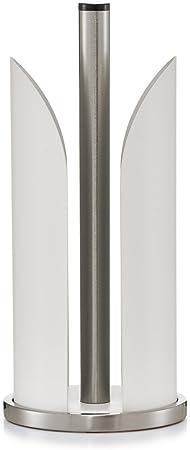 14,5 x 14,5 x 17 cm Edelstahl ca Zeller 24893 Utensilienhalter wei/ß