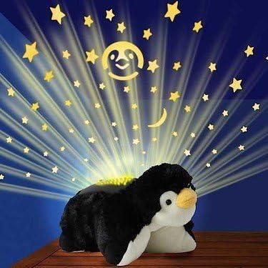 Amazon Com Dubblebla Pillow Pets Dream Lites Playful Penguin 11