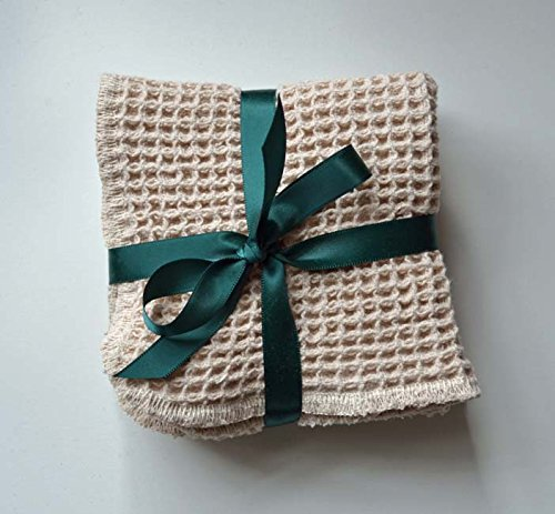 100-organic-cotton-waffle-weave-natural-dish-cloths-set-of-2-9x9-inches