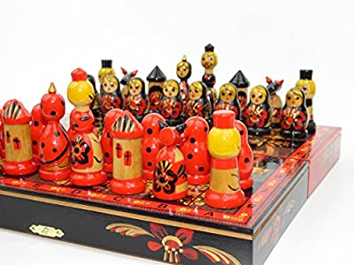 Chess Set, Matreshka Chess