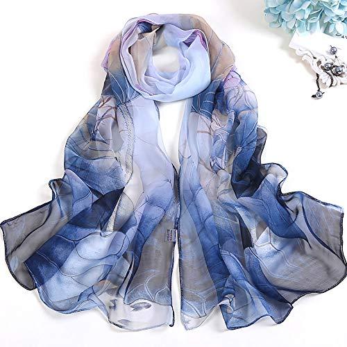 Aimee7 o Moda mujer Bufandas bufanda elegante grande oto dulce largas mant r0CSqrw