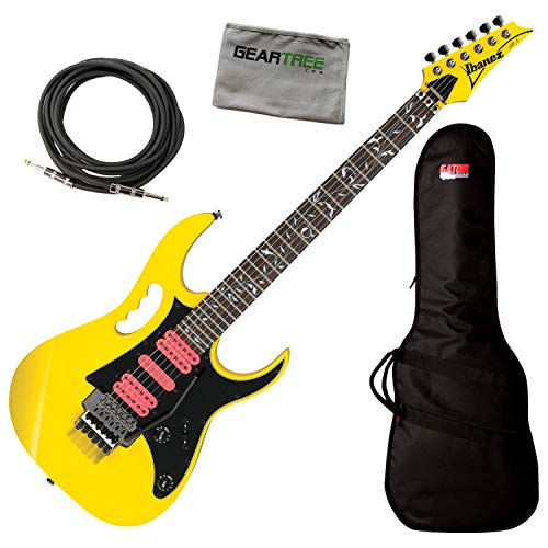 Used, Ibanez JEMJRSP YE Steve Vai Signature Yellow Electric for sale  Delivered anywhere in USA