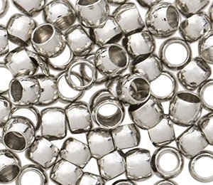 Crimp beads & tubes 800pcs 1.2mm 1.5mm 2mm 2.5mm 3mm 4mm 5mm silver gold bronze copper gunmetal (3mm(3mm) copper-800pcs)