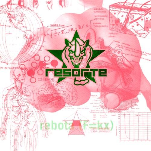 Rebota   (F=KX)2 -  Resorte, Audio CD