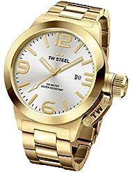 TW Steel Men's CB81 Analog Display Quartz Yellow Watch