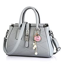 Top Shop Womens Leather Laser Diamond Shoulder Handbags Casual Tote Messenger Bags Hobos Satchels