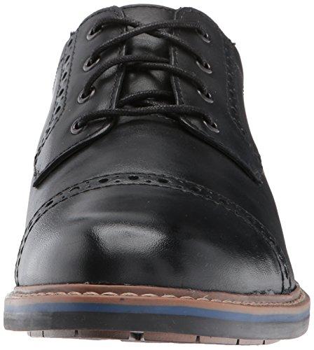Bostonian Mens Melshire Cap Oxford Black Glq2DHTL