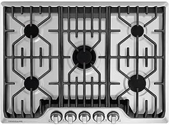 Amazon.com: Frigidaire FPGC3077RS - Juego de 5 quemadores de ...