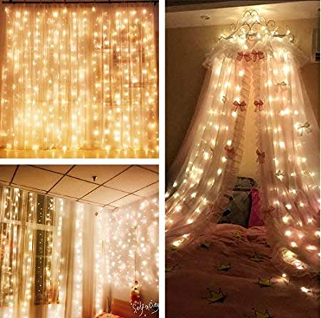 Mzd8391 Curtain String Lights 9 8 X 9 8ft 304 Led Starry Fairy