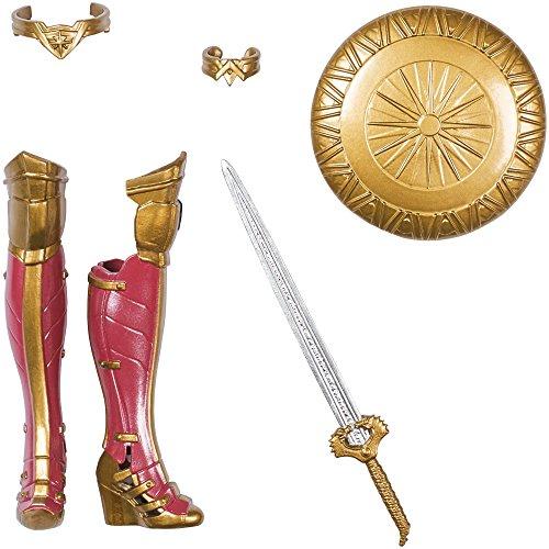 DC Comics FDF39 Wonder Woman Shield Deluxe Muñeca: Amazon.es: Juguetes y juegos
