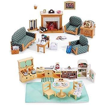 Amazon.com: Calico Critters Deluxe Bathroom Set: Toys & Games