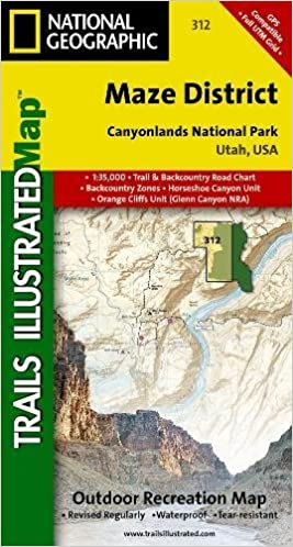Maze District Canyonlands National Park National Geographic Trails