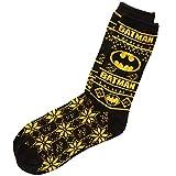 Batman Ugly Christmas Sweater Adult Crew Socks
