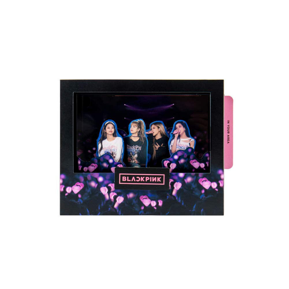 YG Entertainment Idol Goods Fan Products YG Select BLACKPINK POP-UP CARD (TYPE2)