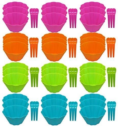 ice cream bowls pink - 5
