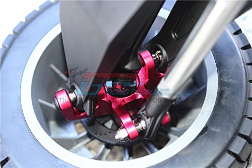 Losi 1 6 Super Rey Baja Rey Super 4X4 Desert Truck Tuning Teile Aluminium Front Knuckle Arms - 1Pr Set Grün 657e87