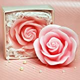Cartoon Romantic Rose Charming Gifts Party Candles Smokeless Candles Birthday Candles for Baby Shower and Wedding Favor Keepsake Favor (5)