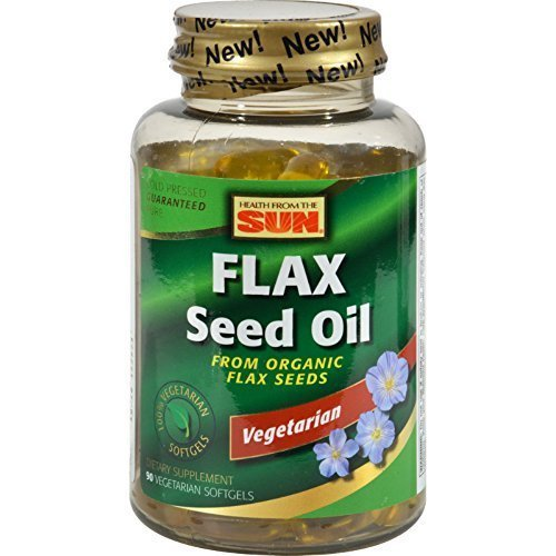 Health From The Sun Flaxseed Oil 100% Veg Ala 90 Sgel