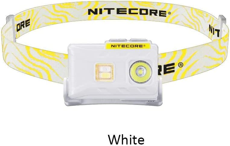 Nitecore NU25 USB Rechargeable Headlamp 360 Lumen Triple Output High CRI 0.99 Ounce Lightweight Headlight