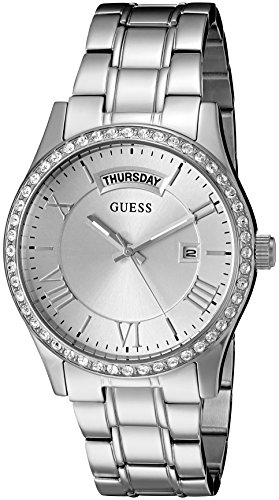 GUESS U0764L1 Silver Tone Stainless Multi Function
