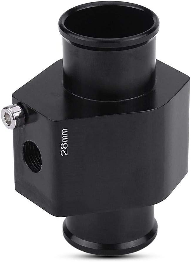 adaptador de man/ómetro del sensor de la manguera de la junta de temperatura del agua Adaptador de sensor de radiador de temperatura de agua Tubo de junta de temperatura del agua del coche 30mm