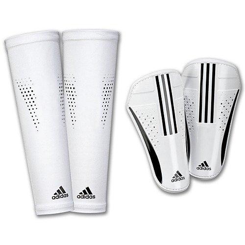 Adidas Pro Lite Shin Guard B005AHK238 Large|ホワイト、ブラック ホワイト、ブラック Large