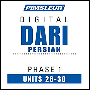 Dari Persian Phase 1, Unit 26-30 Audiobook