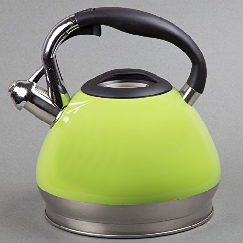 Creative Home Triumph Tea Kettle, 3.5 quart, Green