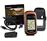 Garmin eTrex 20x TOPO GPS Bundle (100K Topographic Card, Carry Case, Belt Clip), Upgraded Version of Garmin eTrex 20 bundle