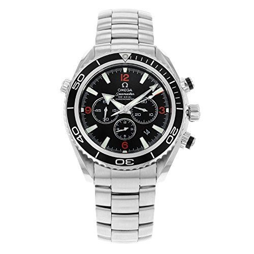 Omega Men's 2210.51.00 Seamaster Planet Ocean Automatic Chronometer Chronograph Watch