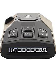 Cobra Rad 450 Laser Radar Detector - Long Range, False Alert Filter, Voice Alert, and OLED Display