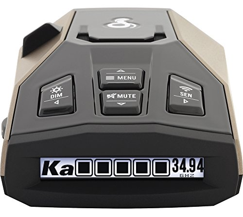 Cobra RAD 450 Laser Radar Detector: Long Range, False Alert Filter, Voice Alert & OLED Display ()