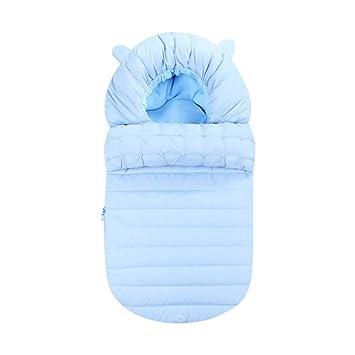 Luerme Saco de Dormir para bebés Edredón recién Nacido Engrosado Manta de algodón para bebé Saco