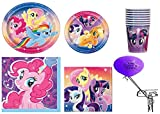 My Little Pony Party Pack for 16 Guests with The Party is Here Balloon