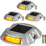 Happybuy Driveway Lights, Solar Driveway Lights, 6