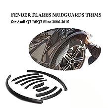 JCSPORTLINE Wheel Arch Fender Flares Cover Trim for Audi Q7 RSQ7 Sline 2006-2014 10PCS