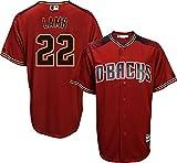 Jake Lamb Arizona Diamondbacks Red Youth Cool Base Alternate Replica Jersey