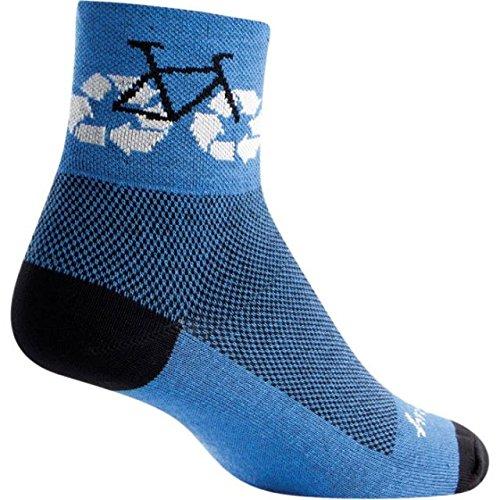 recycle bike sock sm md