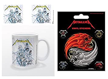 Set Metallica And Justice For All Foto Tasse Kaffeetasse 9x8 Cm