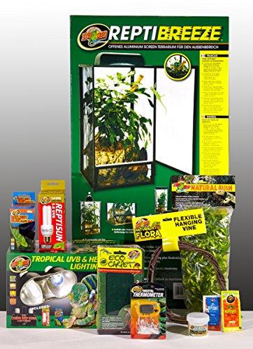 51HZ0tc9eNL - Zoo Med ReptiBreeze Chameleon Kit