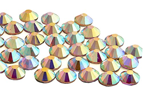 DMC Fix Flat Factory 1440 Crystals Direct Glass EIMASS Crystal Non Hot Back Ab x Rhinestones CHzRzxY