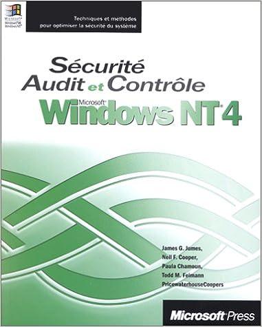 Lire en ligne Microsoft Windows NT sécurité audit et contrôle epub pdf